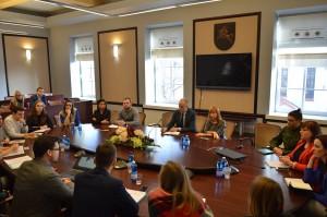 Lietuvos studentų sąjungos ir švietimo ir mokslo ministrės susitikimas