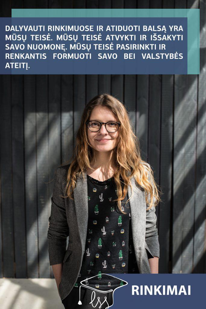Sandra Matoškaitė: Ar ateitis nuo mūsų (ne)priklauso?