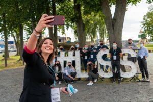 studentai lietuvos studentu sajunga asambleja darosi nuotrauka